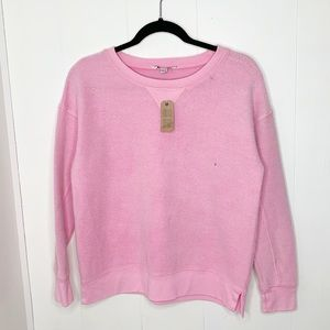 NWT American Eagle Outfitters Fuzzy Pink Sweater